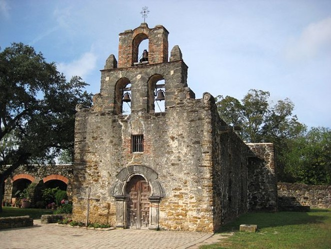 The chapel at Mission Espada.