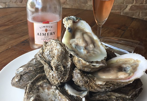 Oysters and Bubbly from Star Fish Global Seafood Restaurant - COURTESY