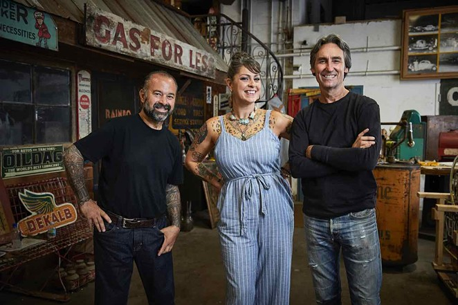 The cast of American Pickers have been traveling the country looking for antiques and collectibles for 21 seasons. - COURTESY PHOTO / AMERICAN PICKERS