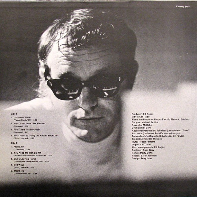 Vibraphonist Cal Tjader during his time on the Fantasy label - COURTESY