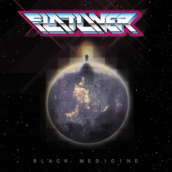 Holodeck artist Flatliner releases Black Medicine a few days after a stop at K23 Gallery - COURTESY