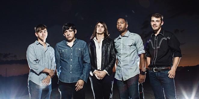 San Antonio pop-rock quintet Tera Ferna - COURTESY