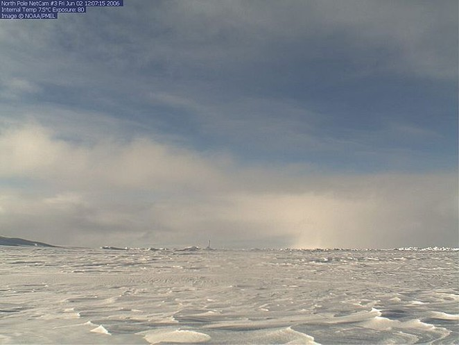The North Pole - NOAA/PACIFIC MARINE ENVIRONMENTAL LABORATORY