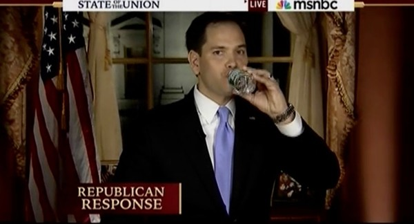 Let's hope Rubio's warmed up to the camera. - YOUTUBE