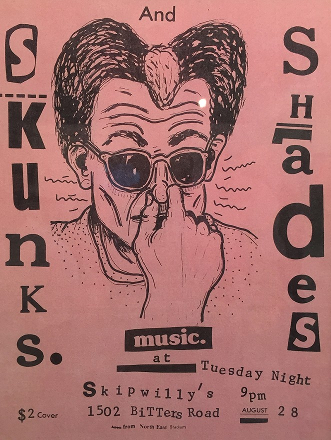 A poster for D.C.'s Skunks. - MATT STIEB