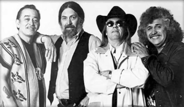 Flaco, Augie, Doug and Freddy of the Texas Tornados - COURTESY