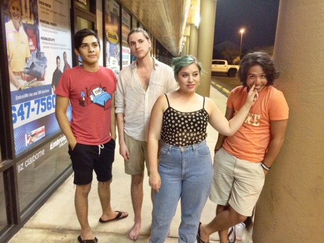 Octahedron (pictured from left to right: Daniel Puente, Ruben Lopez, Elena Lopez, and Austin Jimison) - COURTESY