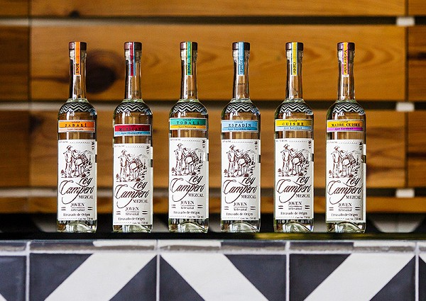 Mezcal is so hot right now. - SARAH DOLIVER
