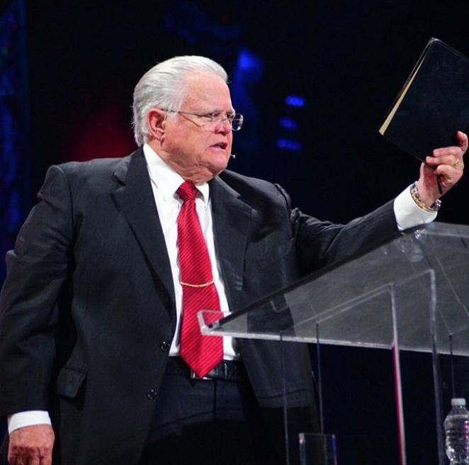 Pastor John Hagee delivers a sermon from his Cornerstone Church. - PHOTO VIA INSTAGRAM / PASTORJOHNHAGEE