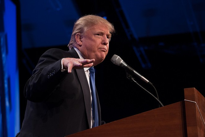 Donald Trump leads a recent poll of Texas Republicans. - VIA FLICKR USER IPRIMAGES