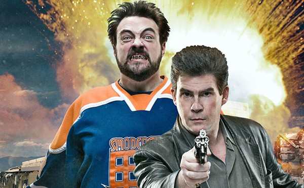 Smith and his Hollywood Babble-On co-host Ralph Garman - COURTESY