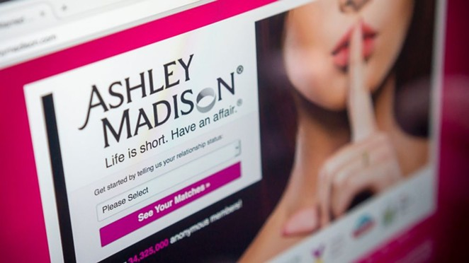 Three city employees tied to Ashley Madison hack. - ASHLEY MADISON