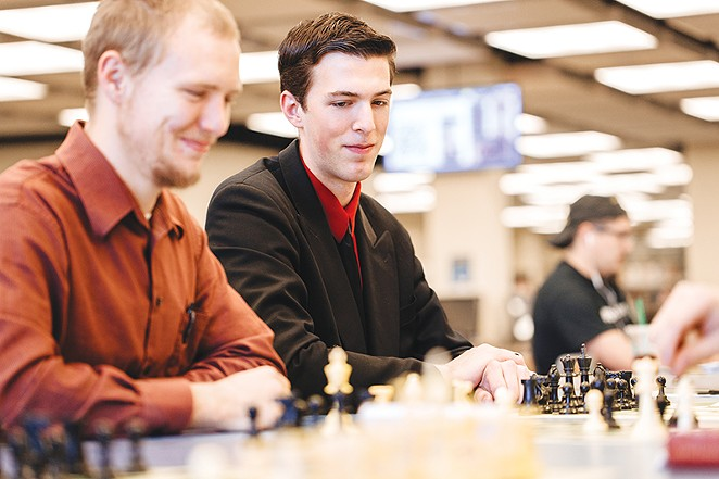 Seek a bit of friendly competition by joining the St. Mary's University Chess Club. - COURTESY