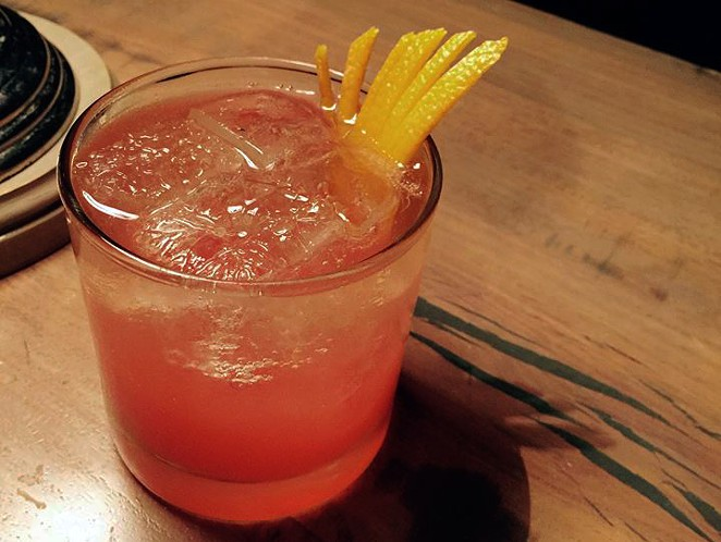 "The ""Pecha Punch,"" official cocktail of PechaKucha San Antonio. - THE LAST WORD"