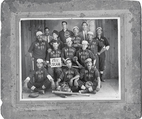 One of the Alamo City's first baseball teams. - COURTESY OF THE UTSA LIBRARY SPECIAL COLLECTION