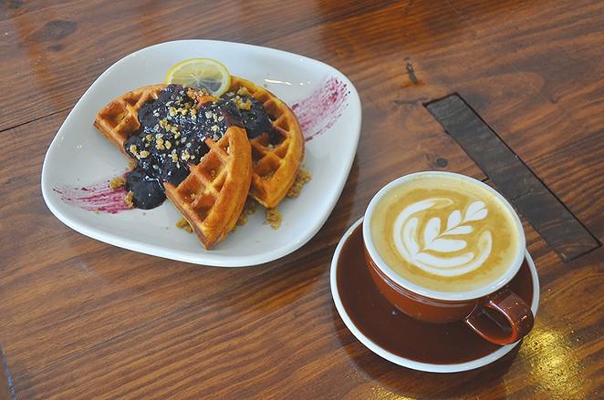 Fairview Coffee Bar & Grub is open. - JESSICA ELIZARRARAS