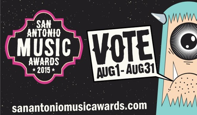 Voting for the San Antonio Music Awards closes on Monday, August 31 - JOHN MATA