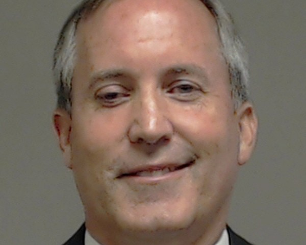 Texas Attorney General Ken Paxton's mugshot. - COLLIN COUNTY