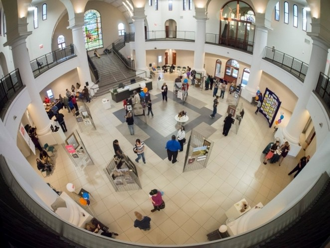 This photo shows the 3rd VIA Employee Art Exhibit. - THE NATIONAL ARTS PROGRAM