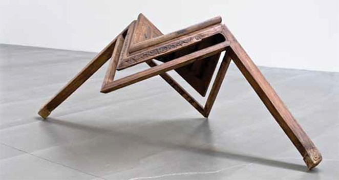 AI WEIWEI, TABLE WITH TWO LEGS