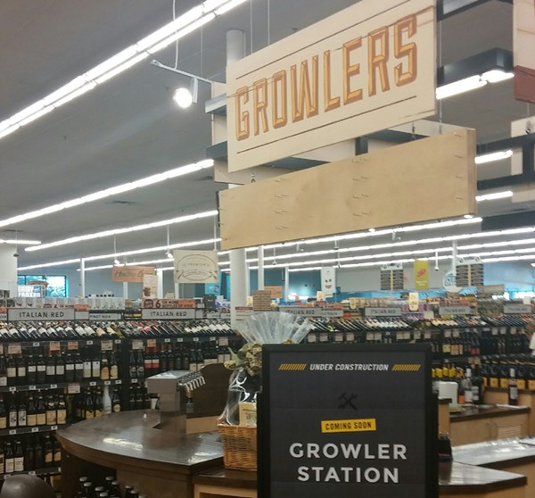 Yet another place to stock up on Texan beer! - MICHAEL MARKS