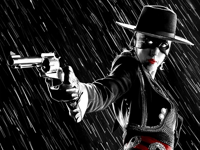 Patricia Vonne as Zoro Girl in the Sin City movies. - COURTESY