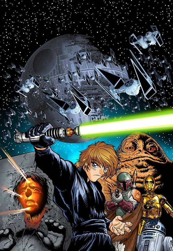 """Return of the Jedi Manga 1"" - JOE WIGHT"
