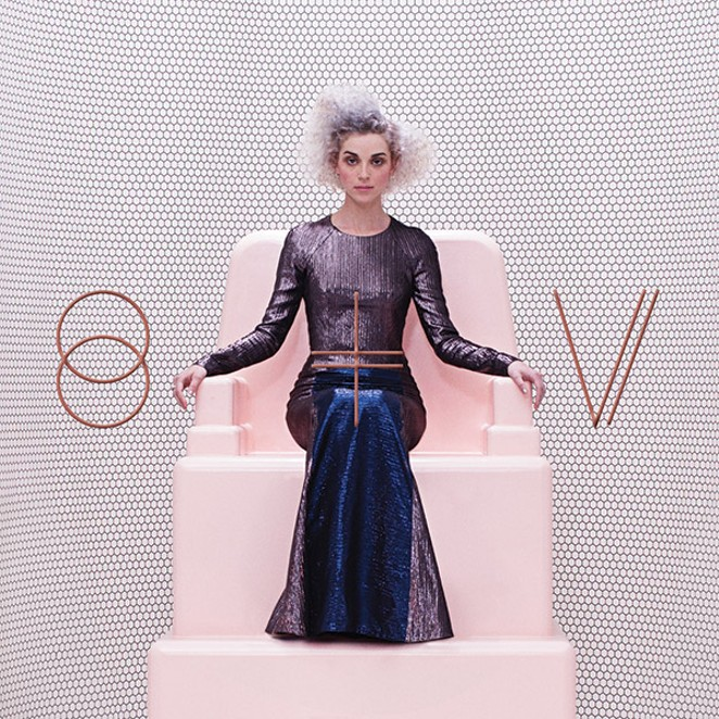 St. Vincent on the cover of her 2015 self-titled album - COURTESY
