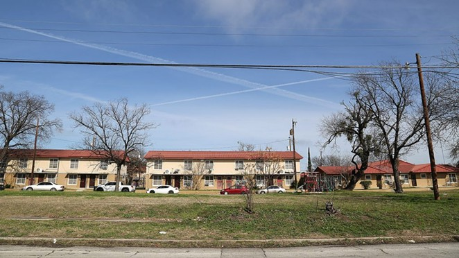 his patch of land on the northwest corner of South Colorado and El Paso streets—adjacent to the Alazan Courts—will become The Legacy at Alazan, a new mixed-income development. Photo by Ben Olivo | Heron - BEN OLIVO / SAN ANTONIO HERON