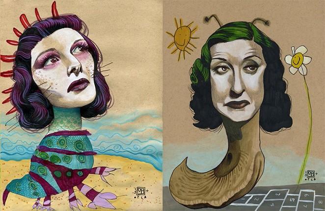 Mica Angela Hendricks illustrative collaboration with her daughter Myla went viral. - MICA ANGELA HENDRICKS AND MYLA HENDRICKS