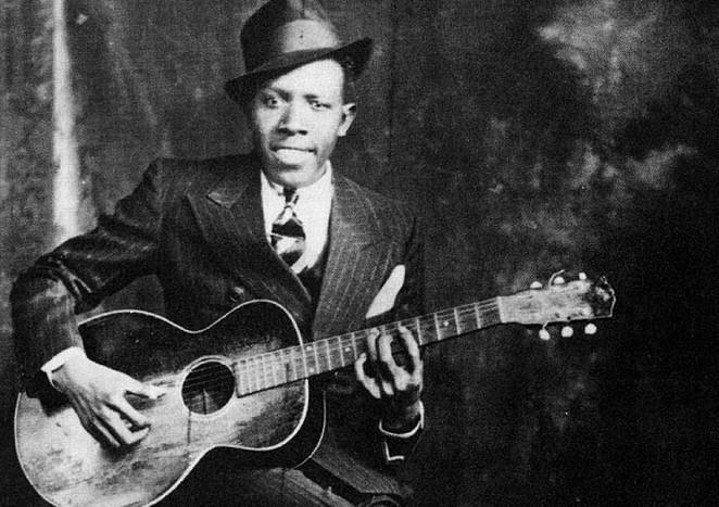 "Robert Johnson, ""King of the Delta Blues"" - COURTESY"