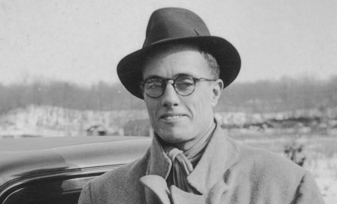 Field recording pioneer John Lomax - COURTESY