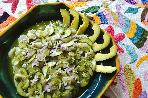 See our agucachiles recipe below. - JESSICA ELIZARRARSAS