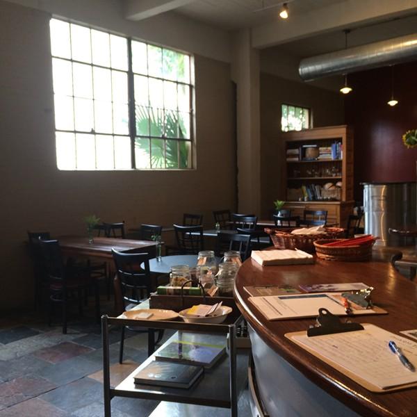 The inside of the cafe. - JESSICA ELIZARRARAS