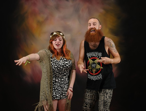 Voodoo Boogaloo's Stephanie Cardona and Logan Woodyard. - COURTESY