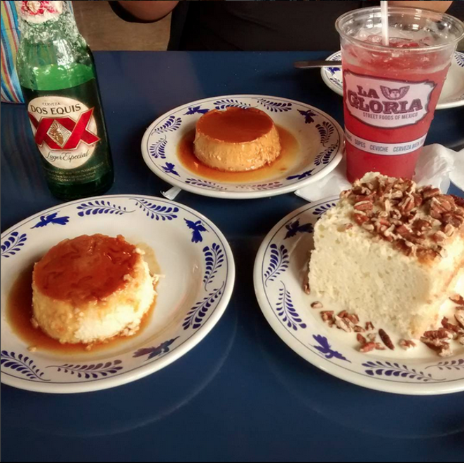 I don't even like flan, but that looks amazing. - @G_ANAKIN87/INSTAGRAM