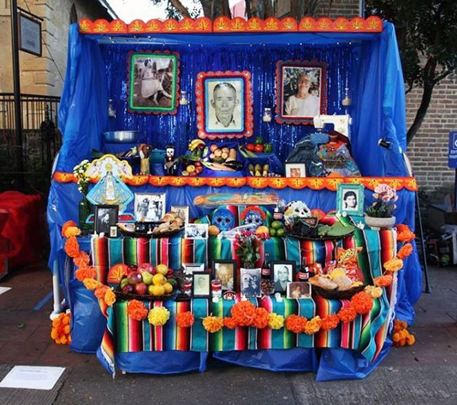 Altar by Albessa V Blythe, also known as La Artista Vargas. - COURTESY