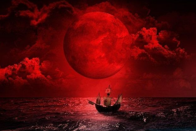 From the movie poster for Four Blood Moons - COURTESY