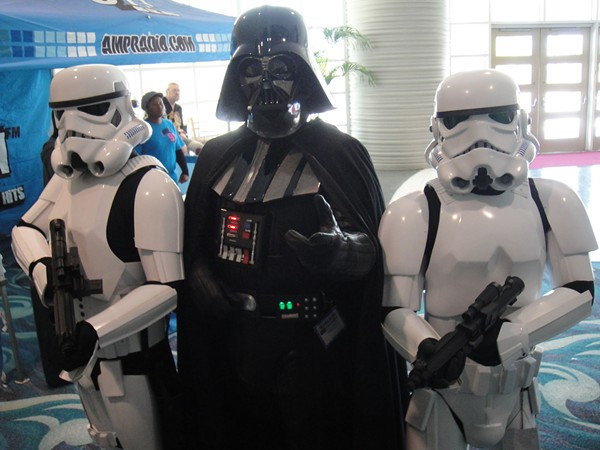 Darth Vader at the Long Beach Comic Expo in 2011 - WIKIMEDIA