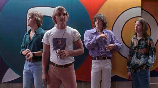 Dazed and Confused is named the best movie to take place in Texas. - COURTESY