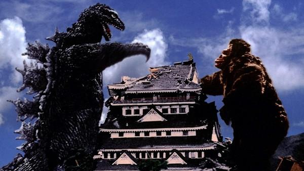Still from King Kong vs. Godzilla - COURTESY