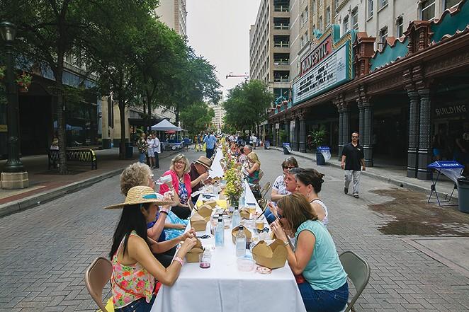 Go eat outdoors. - COURTESY