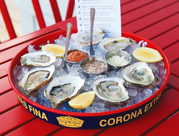 Shuck Shack's bivalve selection changes often, but always features something fresh. - DAN PAYTON