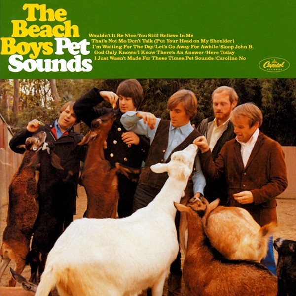 The cover of Pet Sounds, The Beach Boys' 1966 opus