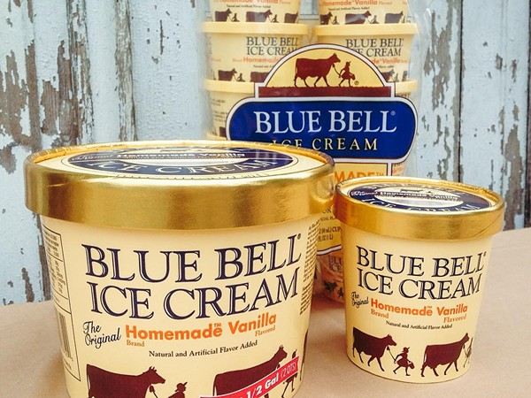 Blue Bell is still not available in San Antonio. - BLUE BELL ICE CREAM/FACEBOOK