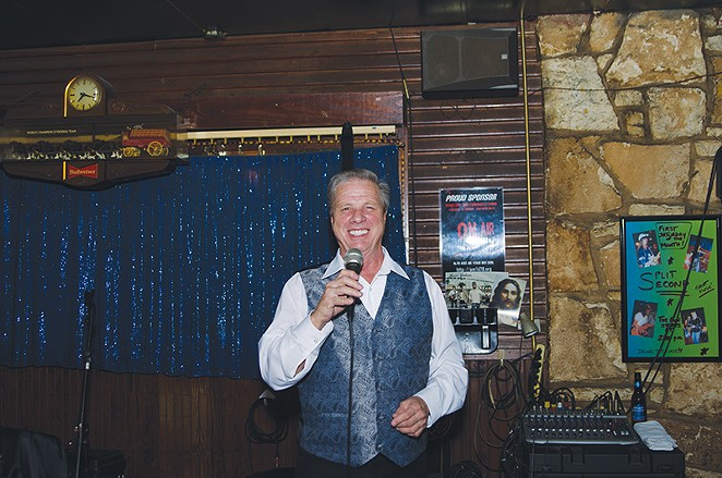 Larry, your karaoke host for the evening. - JAIME MONZON