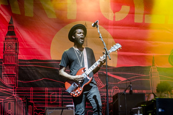 Austin native son, Gary Clark Jr. - JAIME MONZON