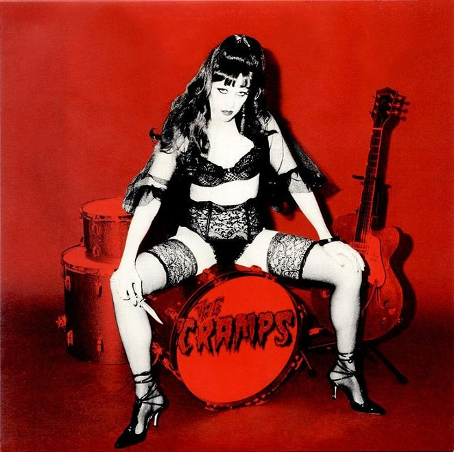 The Cramps, posing the age-old question: Can your pussy do the dog? - COURTESY