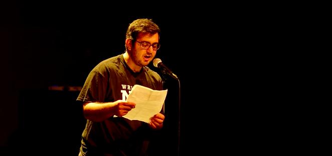 Amir Safi performing 'An Ode to Whataburger.' - YOUTUBE SCREENSHOT