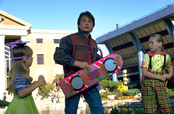 We still don't have hover boards though. - UNIVERSAL PICTURES